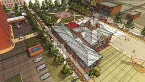 An artist rendering presented Feb 9, 2015.   PHOTO PROVIDED