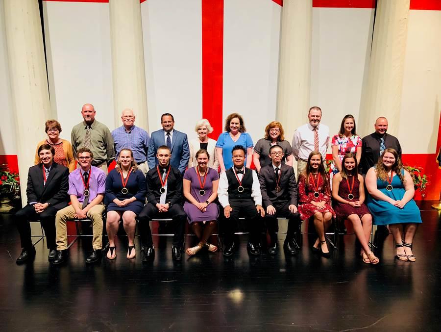 2018 Logansport High School Pillar of the Community Award Recipients
