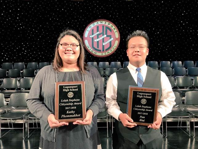 Logansport HS Citizenship Award Winners 2018
