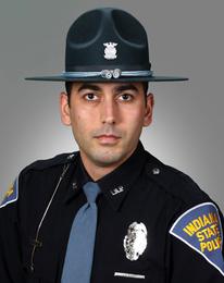 Indiana State Police Sergeant Josh Rozzi